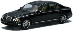 Maybach 57 S Black 1/43 Diecast Car Model - Store Maybach