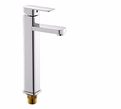 NewBorn Faucet Küche oder Badezimmer Waschbecken Mischbatterie Alle Kupfer antik Leitungswasser heiße und Kalte Retro Glaswaschbecken Einzigen Kalten Becken Kunst Becken auf Dem C Tippen