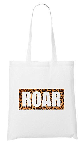 Roar Leo Bag White
