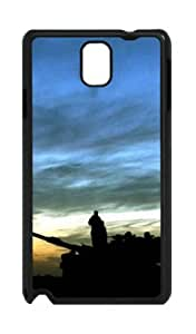 Samsung Galaxy Note 3 N9000 PC Hard Shell Case Military Twilight Black Skin by Sallylotus