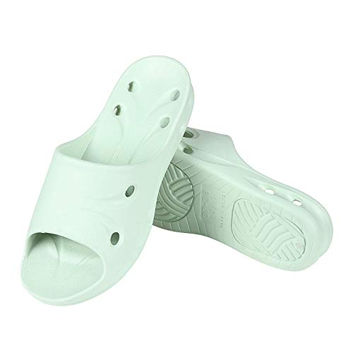 Shower Sandal Slippers Quick Drying Bathroom Slippers Gym Slippers Soft Sole Open Toe House Slippers GN-M Dusty ()