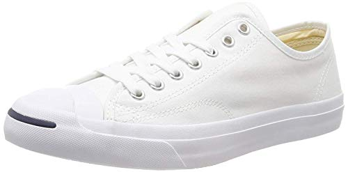 Converse Jack Purcell Oxford Unisex Casual Sneakers, Size 5.5, Color White (Sneakers Jack)