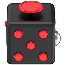 Trianium Fidget Cube Anti-Stress/Anti-anxiety and Depression Ball Prime Quality Toy for Children, Teen, Student, Adult [Easy Carrying] Finger Dice Stress Reliever for Work, School, Class (TM000121)
