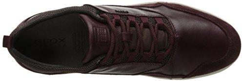 Men 8 D Red Burgundyc7016 Ailand Geox a US Shoe Walking M Saxqxfdw