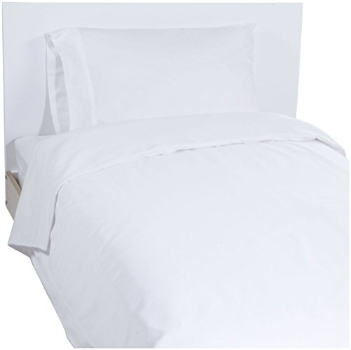 (New Arrivals Twin White Pique Coverlet - White)