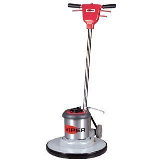 "Viper Cleaning Equipment VN2015  Venom Series Low Speed Buffer, 20"" Deck Size, 175 rpm, 50' Power Cable, 110V, 1.5 hp, 19"" Pad Driver"