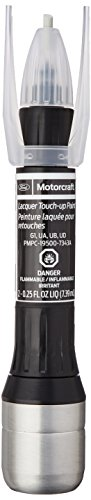 Ford Shadow Black PMPC-19500-7343A Touch-Up Paint, 2-0.25 Fluid Ounces -