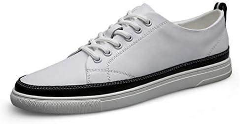 牛革 カジュアルシューズ 白の靴 メンズ 春夏 ローカット デッキシューズ 革靴 メンズシューズ 軽量 厚底 靴 メンズ カジュアル ラウンドトゥ フラット ローカットスニーカー レースアップシューズ 滑り止め