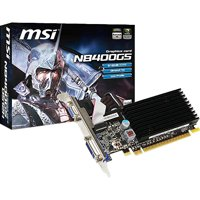 MSI Geforce 8400GS 512 MB DDR2 PCI-Express 2.0 Graphics Card N8400GS-D512H