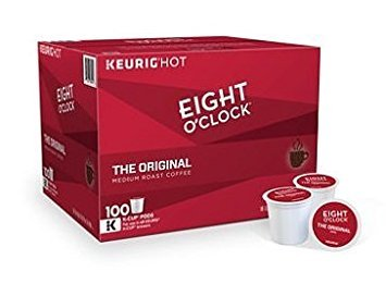 Eight O'Clock The Original Coffee K-Cup Pods, (100 ct.) by Eight O'Clock Coffee