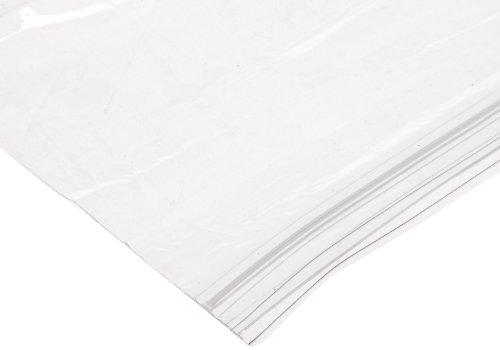 Webster ZIPQUART Plastic Handi Bag Resealable Zipper Bag, 1.75 Mil,