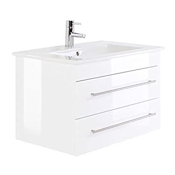 Bevorzugt Villeroy und Boch Doppelwaschtisch 80cm ● Badezimmermöbel UU79