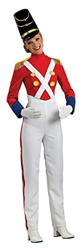 Rubie's Woman's Christmas Toy Soldier Costume, Multicolor,