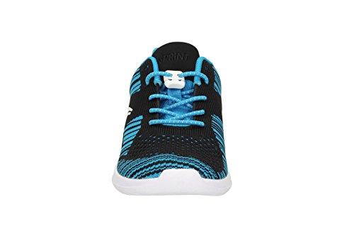 ClarksSprintKnit Jnr - Zapatillas Niñas Blue Combi