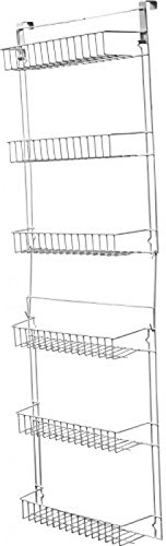 Storage Dynamics 5 Foot Over The Door Rack Organizer Kitchen Pantry Spice Shelf
