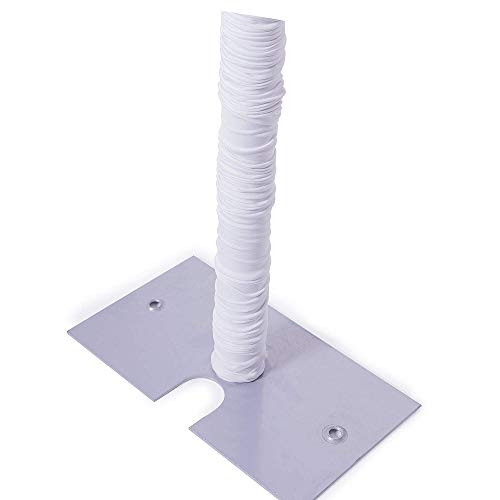 Event Decor Direct 20FT Spandex Pole Cover (for Upright 14FT & Under) - White