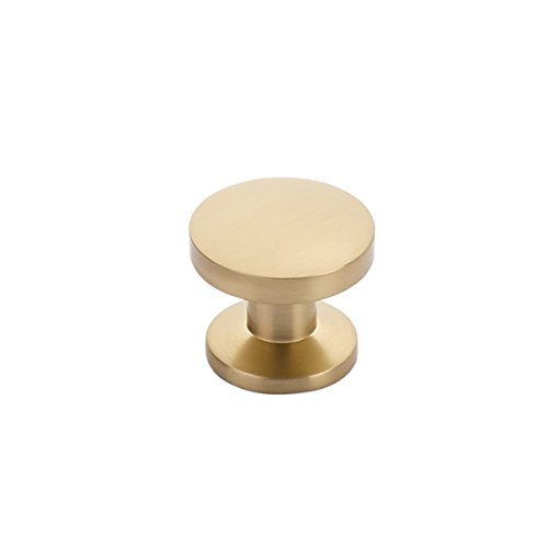 Northport Collection - Schaub Northport Collection 1-3/8 in. (35mm) Knob, Signature Satin Brass - 211-SSB