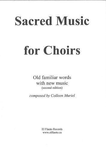Choir Music Songbook - Sacred Music For Choirs