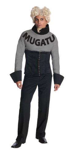 Mugatu Zoolander Costume, Black, (Zoolander Mugatu Costume)