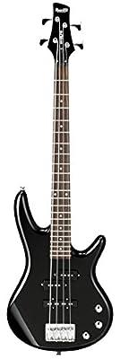 Ibanez GSRM20 Mikro Short-Scale Bass Guitar, Black