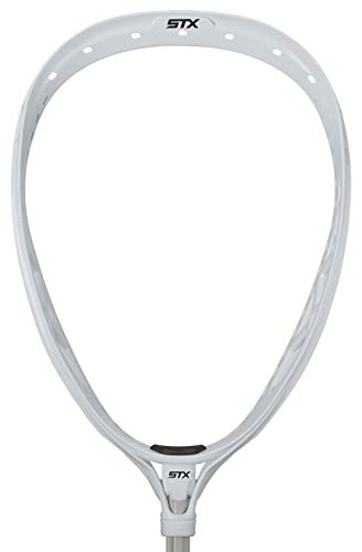 Stick Goalkeeper - STX Lacrosse Eclipse 2 Unstrung Goalie Head, White