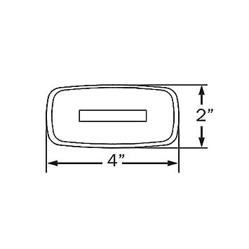 Optronics Amber Lens Reflector Clearance Marker Light A-32ABP