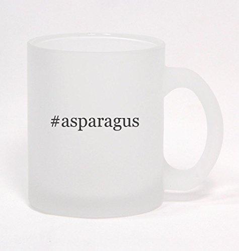 #asparagus - Hashtag Frosted Glass Coffee Mug 10oz