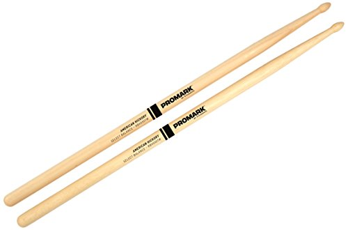 Promark Select Balance Rebound Balance Drum Sticks, Wood Tip, .550