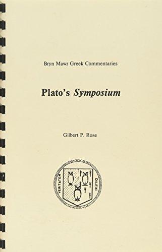 Platos Symposium  Commentary  Bryn Mawr Commentaries  Greek