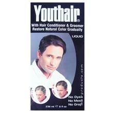 Youthair Couleur des cheveux et revitalisant pour les hommes, liquide - 8 fl oz