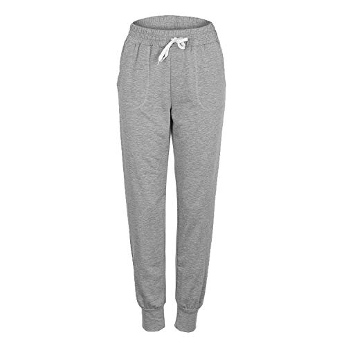 Upgrade Is A 2006 - This is an Upgrade Product,Women Cotton Tracksuit 2 Piece Set Clothing Solid Sportswear Suit,Grey Pant,S