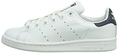 Adidas Stan Blue dark Adulto Smith White Sneakers Unisex Bianco Originals core vHrwv