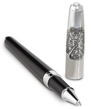S.T. Dupont Opus X 2005 Limited Edition Rollerball Black Pen (482269)