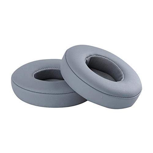 Meijunter Headphones Ear Pad for Beats Solo 2/3 Bluetooth Wireless Headphones, Replacement Earpads Ear Cushion Cover Earmuffs Type 1 Color Gray