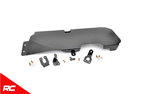 Rough Country Gas Tank Skid Plate Compatible w/ 2007-2018 Jeep Wrangler JK 2DR Armor 794