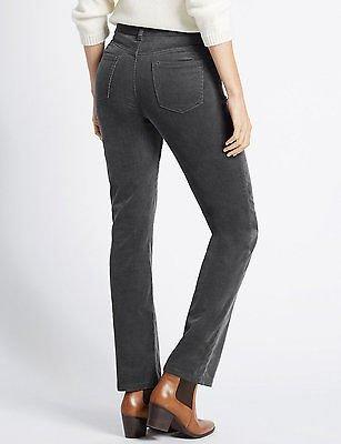 8816f601d94 FashionLabels4Less Ex High Street Brand 3503 Straight Leg Cotton Rich  Corduroy Cord Trousers - Colour