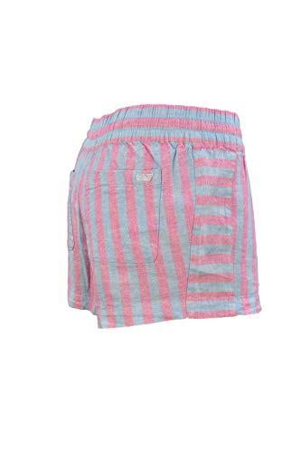 Vineyard Vines Women's 3.5 inches Cotton Pull On Shorts (Coastside Stripe Mix/Light Magenta, - Mix Vineyard