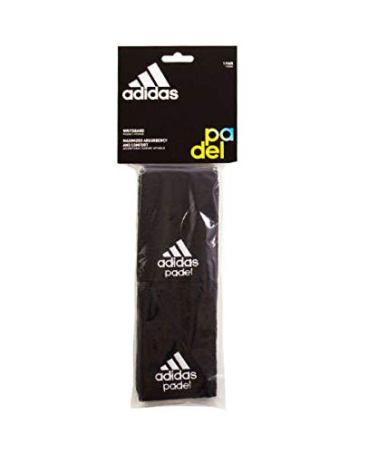 All for Padel Wristband L x2 Muñequeras, Adultos Unisex, White ...