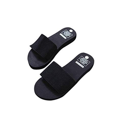 ba08c605c7bd Amazon.com   Womens Summer Slippers Open Toe Slip On Flat Slipper  Comfortable Indoor Outdoor Shoes Casual Summer Beach Shoes for Women    Girls   Sports   ...