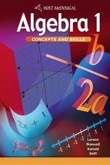 Algebra 1 Concepts - McDougal Littell     Algebra 1 Concepts and Skills Teacher's Edition