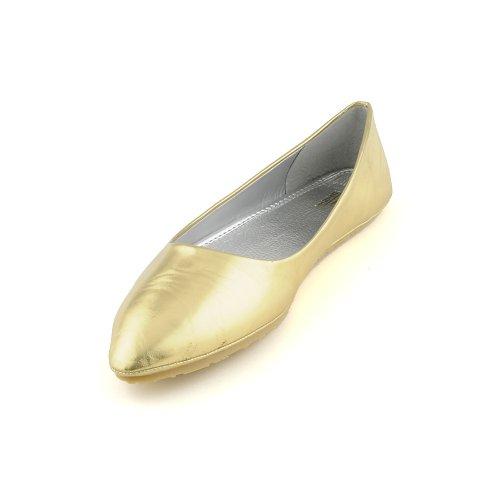 Shiekh Women Tena Casual Flat Gold