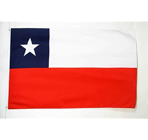 AZ FLAG Bandera de Chile 150x90cm - Bandera CHILENA 90 x 150 cm ...