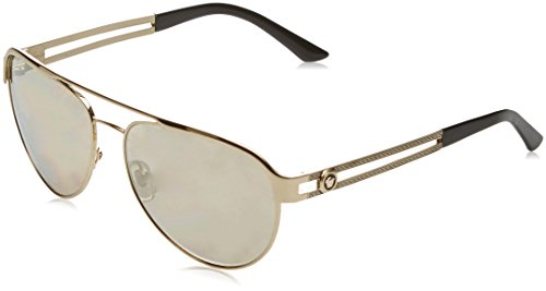 Versace Womens Sunglasses (VE2165) Gold/Brown Metal - Non-Polarized - - Sunglasses Versace Gold