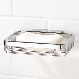 r Soap Basket Polished Chrome (Hotelier Soap)