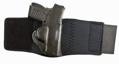 Desantis Die Hard Ankle Rig Holster fits Springfield XDs 45, Right Hand, Black from Desantis