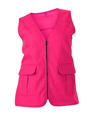 DSG Outerwear Women's Blaze Hunting Vest (Blaze Pink, LG/XL) by DSG Outerwear
