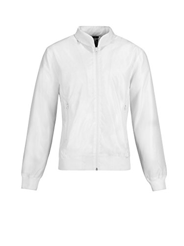 Collection B Lining White Giacca amp;c White Impermeabile Donna 771Hwq