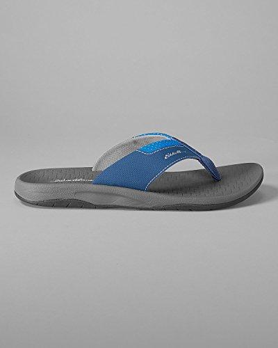 Eddie Bauer Heren Breekpunt Flip Flop Med Indigo (blauw)