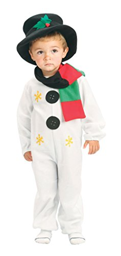 (Bristol Novelty Snowman Toddler Costume Age 2 -3)