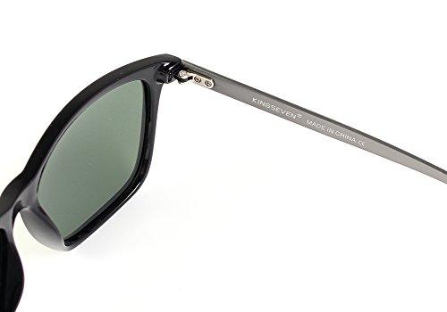 de Lunettes essentielles KINGSEVEN magnésium voyage New Fashion 2017 Noir d'aluminium de de soleil Z50wEW0q